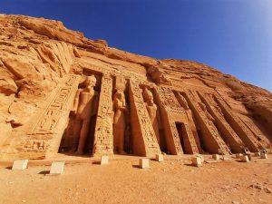 Ricostruzione di Abu Simbel.
